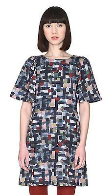 8, Multicolore (Paint), Pepa Loves Women's Celina Dress NEW