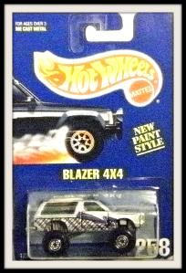 Hot Wheels Blazer 4 X 4 1995