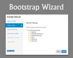 Bootstrap Application Wizard