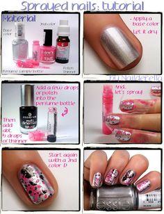 Sprayed Nails