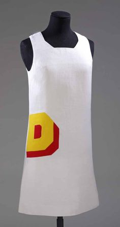 Double-D mini dress, designed and made by Foale & Tuffin, 1966 Photograph © Victoria and Albert Museum