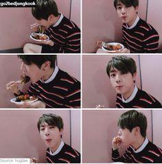 BTS Jin | eat jin