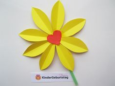Blumen selber basteln