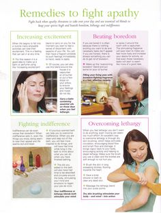 Young Living Essential Oils: Apathy Emotions