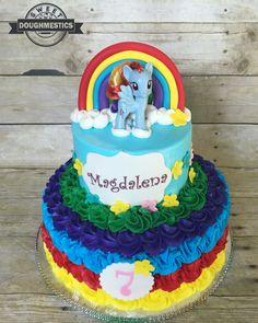 My little Pony Cake by Sweet Doughmestics