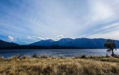 At the end of the world in New-Zealand. Te Anau a small and quiet town before getting to the fjorfs...