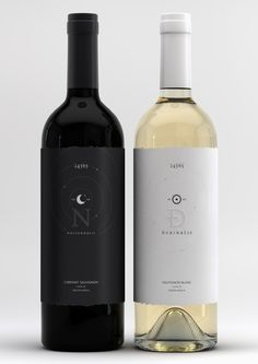 label / Nocturnalis / Durinalis by Marcel Buerkle #wine #label #packaging