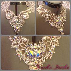 Crystal AB, Crystal, Pearl & bicone beads.