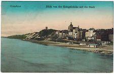 View to Town, Graudenz/Grudziadz, Poland, 1917 to Germany