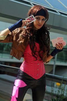 Female Gambit Cosplay - most definitely, someday. But with red contacts :) Gambit Cosplay, Male Cosplay, Best Cosplay, Cosplay Girls, Cosplay Diy, Awesome Cosplay, Cosplay Ideas, Costume Ideas, Comic Con Costumes