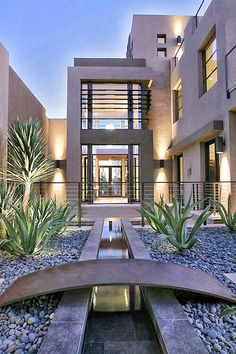 5 Simple and Modern Tips and Tricks: Contemporary Interior Entrance contemporary exterior mid century.Contemporary Home Remodel contemporary hotel disney. Architecture Design, Amazing Architecture, Contemporary Architecture, Contemporary Landscape, Contemporary Building, Contemporary Design, Futuristic Architecture, Residential Architecture, Modern Exterior
