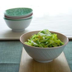 cucumber and napa cabbage coleslaw. Someone wanna bring me some peanuts? :)