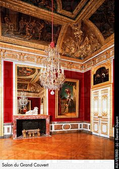 Palace of Versailles - Salon du Grand Couvert