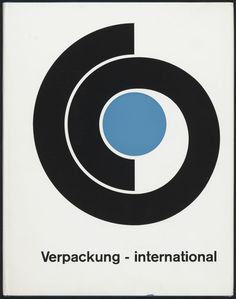 Wim Crouwel – Verpackung - international – 1968