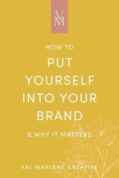 How to be personal in your branding with your small business in mind Social Media Branding, Branding Your Business, Business Advice, Business Marketing, Creative Business, Content Marketing, Media Marketing, Identity Branding, Branding Design