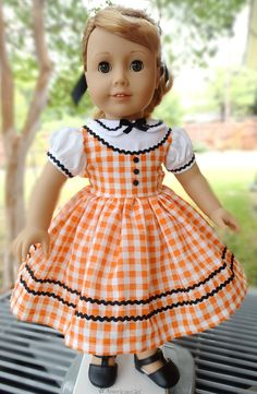 1950's Style School / Party Dress for AG Maryellen by Designed4Dolls on Etsy  $24.95