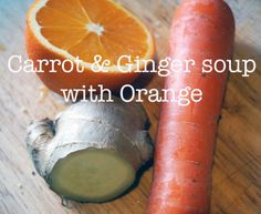 meg-made: Carrot and ginger soup with Orange #FastDiet recipe ideas