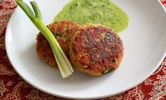 Kashmiri Lamb Shammi Kebab with Black Olives and Chaat Masala