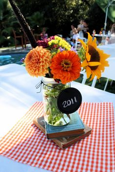 Vintage School Theme Graduation Party | Marissa Ann Photography