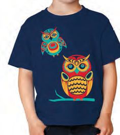Youth T-Shirt - Owls