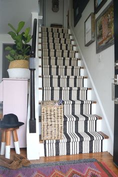 from our Mistakes when installing a Stair Runner How to avoid mistakes while installing a stair running with Mistake Mistake(s) may refer to: Decor, Farmhouse Stairs, Diy Stairs, Basement Decor, Remodel, Staircase Design, Foyer Decorating, Stair Runner, Stairs