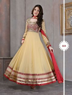 Vivacious latest designer anarkali salwar suit will make you amazed look with full long anarkli design, embroidery work and lace patti work. Addsharesale offer latest online wholesale designer collections for suppliers meets sellers at online portal. www.addsharesale.com