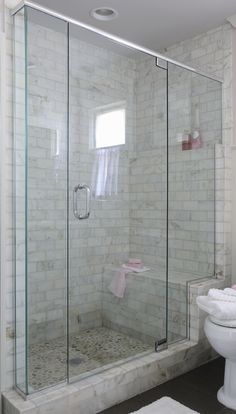 like the recessed wall instead of a niche.  Don't like the tile on threshold.  not water safe shower