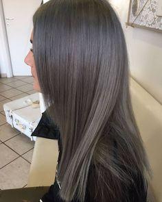 Ashy Brown Hair, Ashy Hair, Brown Hair Balayage, Ash Blonde Hair, Hair Color Balayage, Medium Ash Brown Hair, Dark Grey Hair Color, Ash Grey Hair, Hair Color And Cut