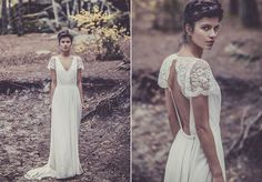 Isn't really my style and I don't pin wedding stuff BUT this dress is called Miss Moss : Laure de Sagazan JUST SAYING