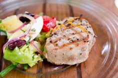 Lemon Grilled Tuna Steaks My honey likes everything well done - so this is a great way to cook tuna steaks without drying them out.