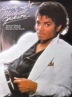 Michael Jackson Beat It Vintage Sheet Music 1983 Guitar Piano Vocal King of Pop