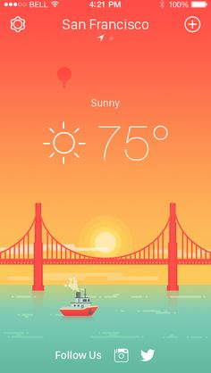 Weather iPhone App