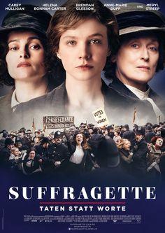 Suffragette - Taten statt Worte, Ein Film von Sarah Gavron mit Carey Mulligan, Helena Bonham Carter. Übersicht und Filmkritik. Maud Watts (Carey Mulligan) arbeitet seit ihrem siebten Lebensjahr im Londoner East End in einer Wäscherei. Inzwischen ist sie mit ihrem Kollegen Sonny (Ben Whishaw) verheiratet und hat einen kleinen Sohn. Über die Qualität ihres Lebens stellt sich M...