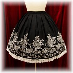 Baby the Stars Shine Bright / Skirt / Flower Cart Embroidery Skirt