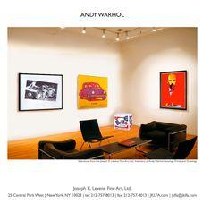 Art for sale from Joseph K. Levene Fine Art, Ltd. included in The Art of Leadership Magazine. Selling Art Online, Online Art, Warhol Paintings, Andy Warhol Art, Secondary Market, Magazine Files, West New York, Jasper Johns, Floor Chair