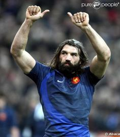 sebastien chabal is a french international rugby player. hes a beast