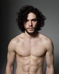 Jon Snow Character from Game of Thrones. He could melt any iceberg with that look.