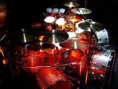 Alex van Halen drum kit