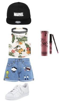 """Untitled #22"" by maprincess-1 on Polyvore featuring MANGO, Paul & Joe Sister, adidas and Humble Chic"