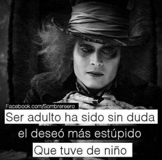 Triste Disney, Best Quotes, Love Quotes, Words Can Hurt, Chesire Cat, Inspirational Phrases, E Cards, Tim Burton, Johnny Depp