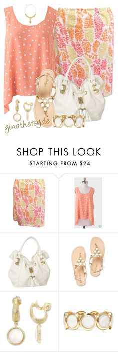 """Curvy Woman - Plus Size"" by ginothersyde ❤ liked on Polyvore featuring Monet and 86"