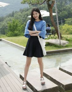 Dress Up Confidence! 66girls.us Frilled Hem Mini Skirt (DIMS) #66girls #kstyle #kfashion #koreanfashion #girlsfashion #teenagegirls #younggirlsfashion #fashionablegirls #dailyoutfit #trendylook #globalshopping