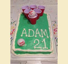 Bday cake for guys
