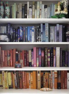 """Sneak Peek: A Jewelry Maker's Provençal Home. """"Color-coded books."""" #sneakpeek"""