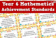 Maths Achievement Standards - Yr6