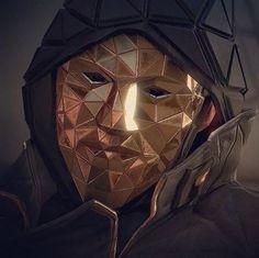 Another hacker mask idea - Deus Ex: Mankind Divided