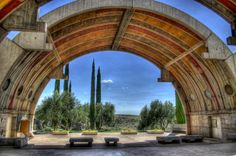 Arcosanti, Arizona   Arcosanti is an experimental town developed by Architect Paolo Soleri. You can take a personal tour of Arcosanti and learn all about the utopian world Soleri wanted to create before his recent death.