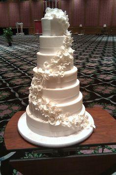 2011 Summer Wedding Cake
