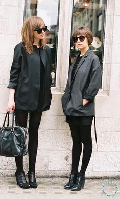 Een oversized blazer geeft een instant coole look. Kan bij een jeans, een skinny, maar ook cool op rok!