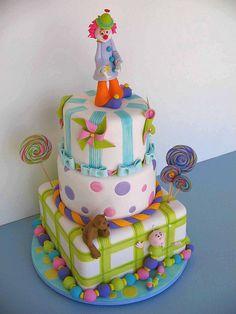 """Bolo """"Dia das Crianças"""" (www.djalmareinaldo.com.br) by Djalmma Reinalldo (Cake Designer), via Flickr"""
